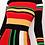 Thumbnail: Multi-Color Knit Flare Dress (runs a size small)