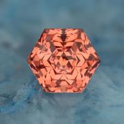 4.14 ct. Peach Garnet