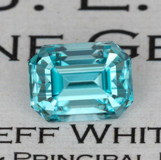 4.70 ct. Blue Zircon