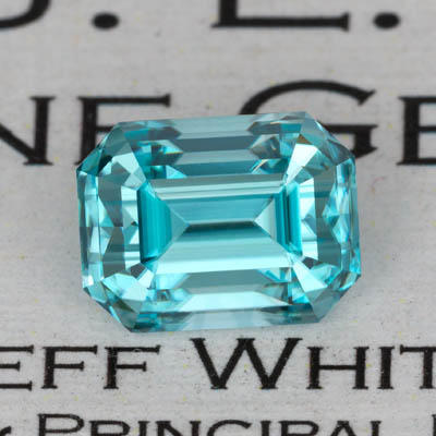 4.70 ct. Blue Zircon