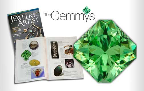 The Gemmy Awards coverage of Jeff White's gem cutting