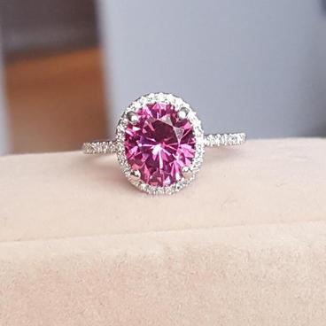 Mahenge Garnet Ring