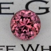 1.27 ct. Orange-Brown-Pink Sapphire