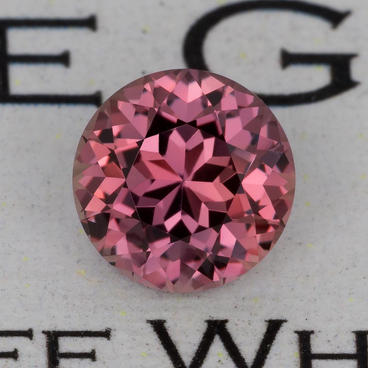 1.27 ct. Orange-Brown-Pink Sapphire