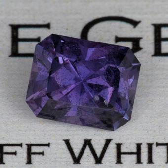 2.26 ct. Purple Sapphire