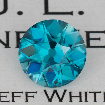5.81 ct. Blue Zircon