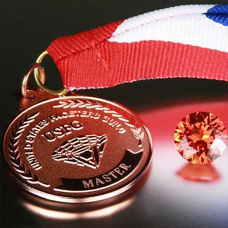 2008 AGTA Winning Precision-Cut Gemstone
