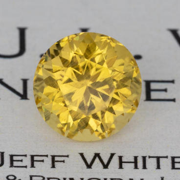 5.39 ct. Golden Beryl