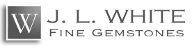 JL White Fine Gems logo