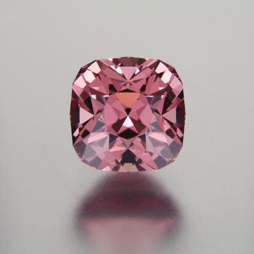 3.89 ct. Rose Malaya Garnet