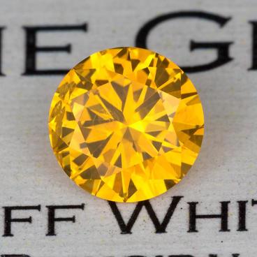 1.78 ct. Orangy-Yellow Sapphire