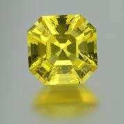 4.87 ct. Neon Yellow Danburite