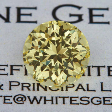 3.69 ct. Yellow Danburite