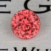 0.95 ct. Pinkish-Orange Sapphire