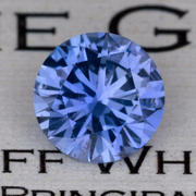 2.04 ct. Purplish-Blue Sapphire