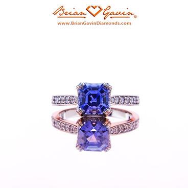Sapphire Engagement Ring