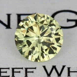 1.96 ct. Yellow Sapphire