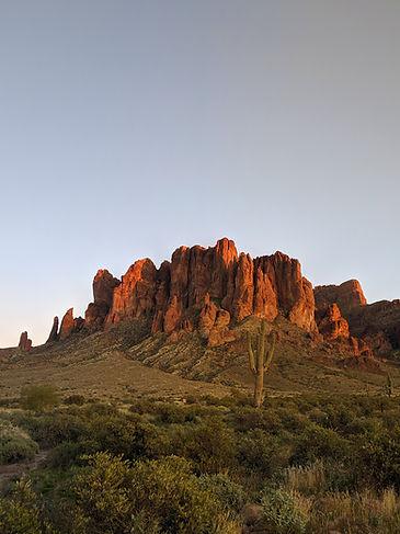 arizona desert mountain landsape