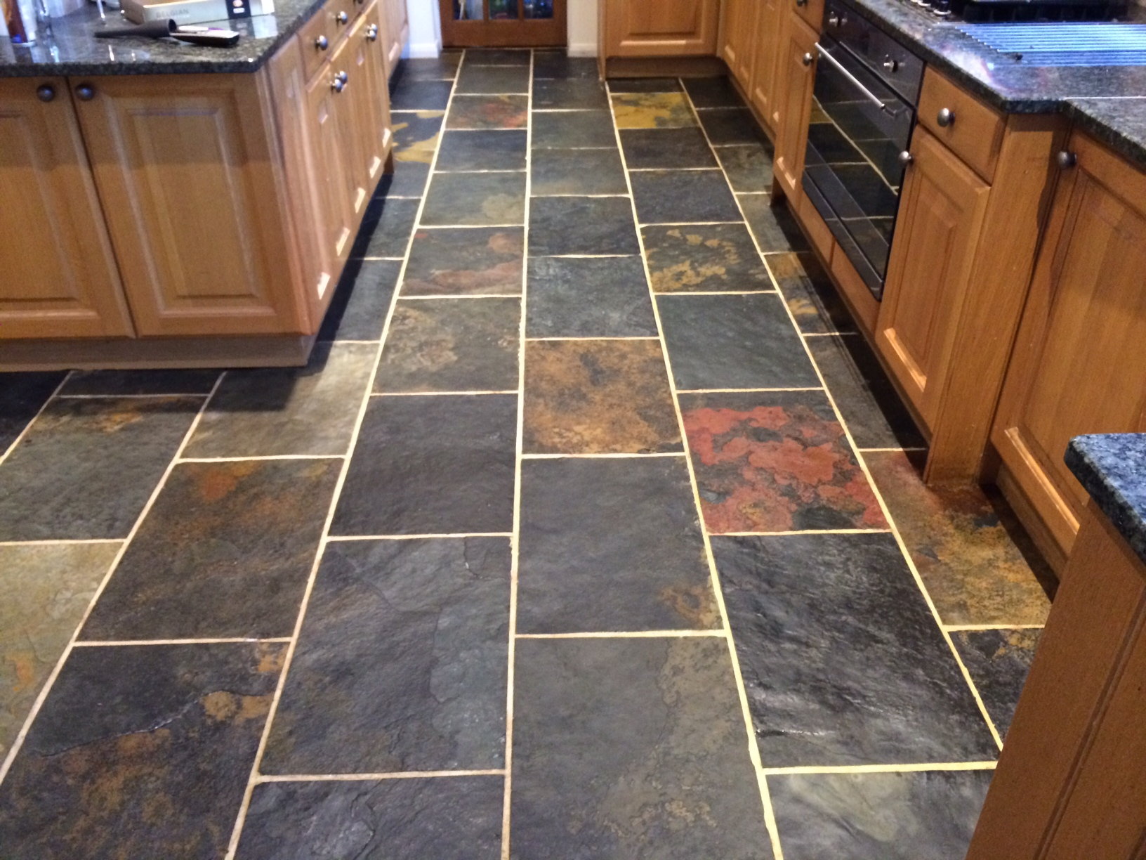 Slate After Cleaning