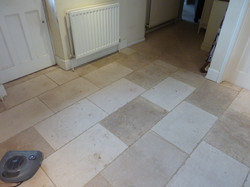 Limestone After Cleaning