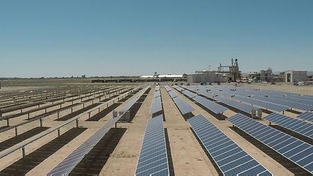 Adams Vegetable Oils solar panel field