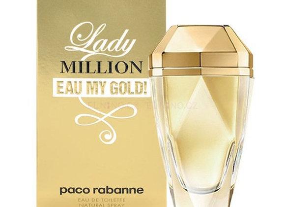 Paco Rabanne Lady Million Eau My Gold EDT - 80ml