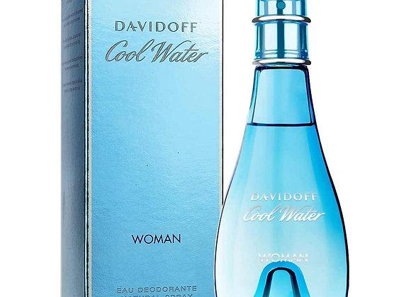 Davidoff Cool Water Woman Deodorant Spray - 100ml
