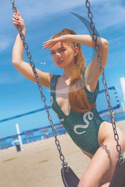 Kaylee June 15th moon Green 2
