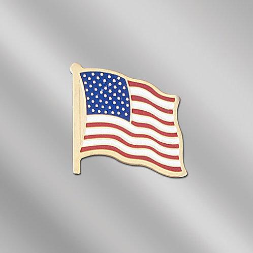 Die Struck USA Flag Pin