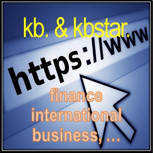 TLD (Top Level Domains) - kb & kbstar