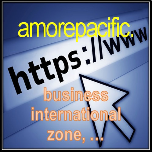 TLD (Top Level Domains) - amorepacific