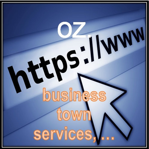 TLD (Top Level Domains) - oz
