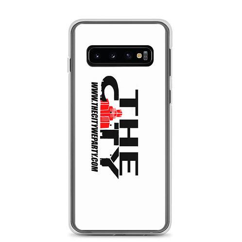 THE C.I.T.Y. Samsung Case - white