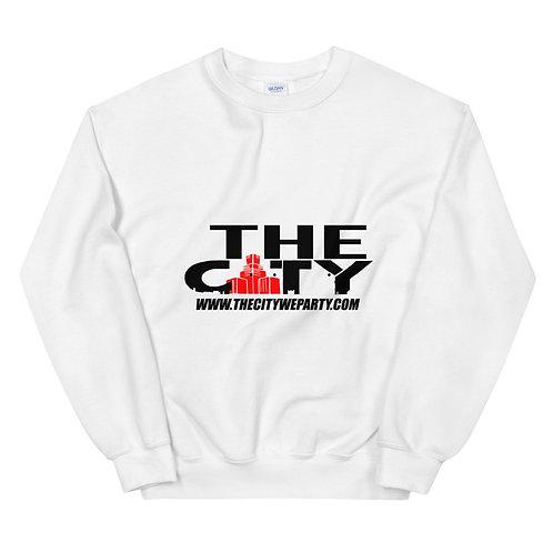 THE C.I.T.Y. Sweatshirt - white
