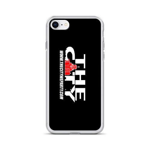THE C.I.T.Y. iPhone Case - black