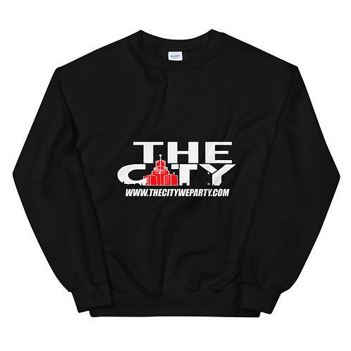 THE C.I.T.Y. Sweatshirt - black, red, light grey, dark grey