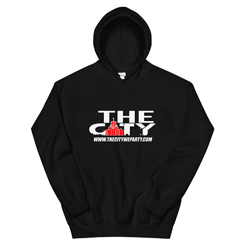 THE C.I.T.Y. Hoodie - black, red