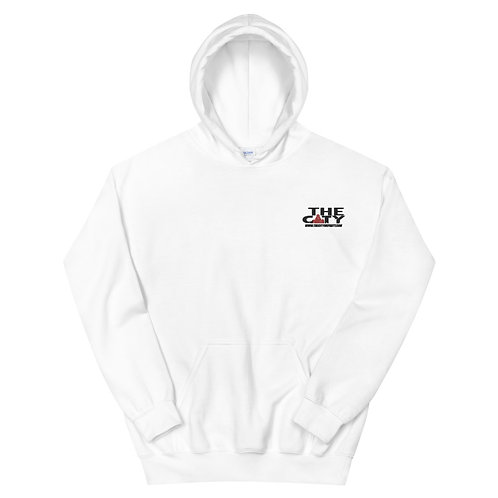 THE C.I.T.Y. Embroidery Hoodie - white