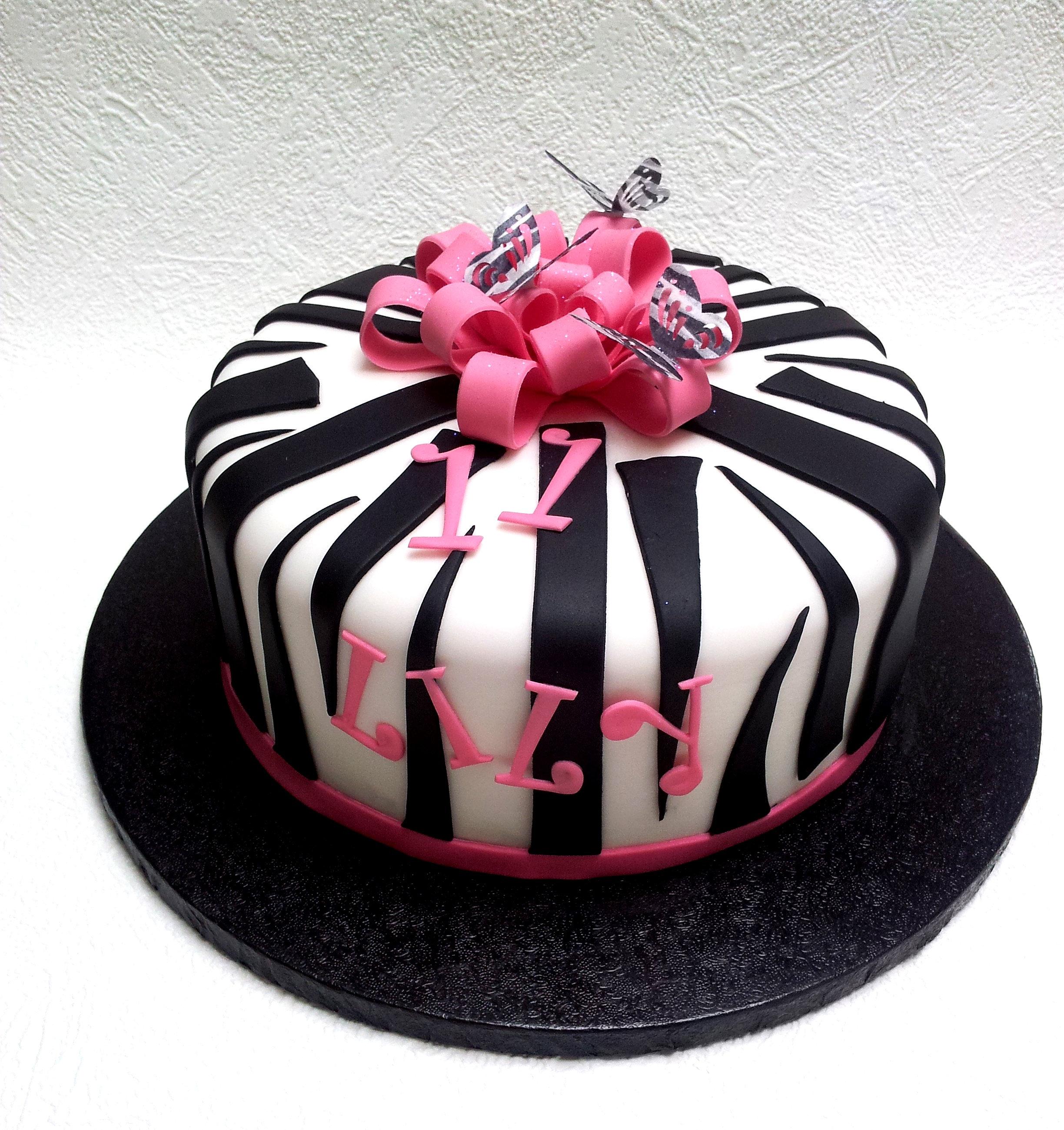 Zebra Cake Uk