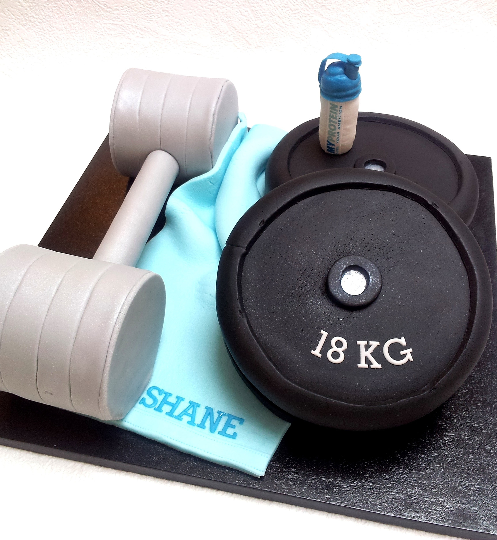 Gym Cake Images