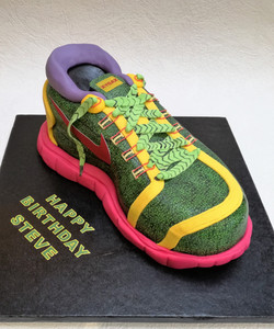 Nike trainer cake