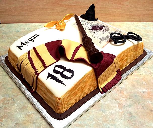 Harry Potter Plate Cake Wedding