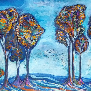 Copse of Trees by Amy Hooton