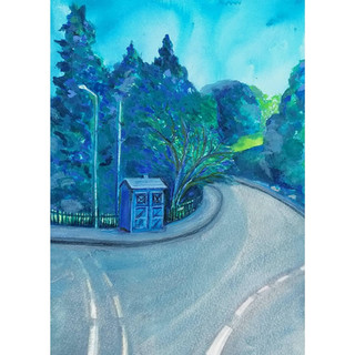 Summer Police Box by Amy Hooton