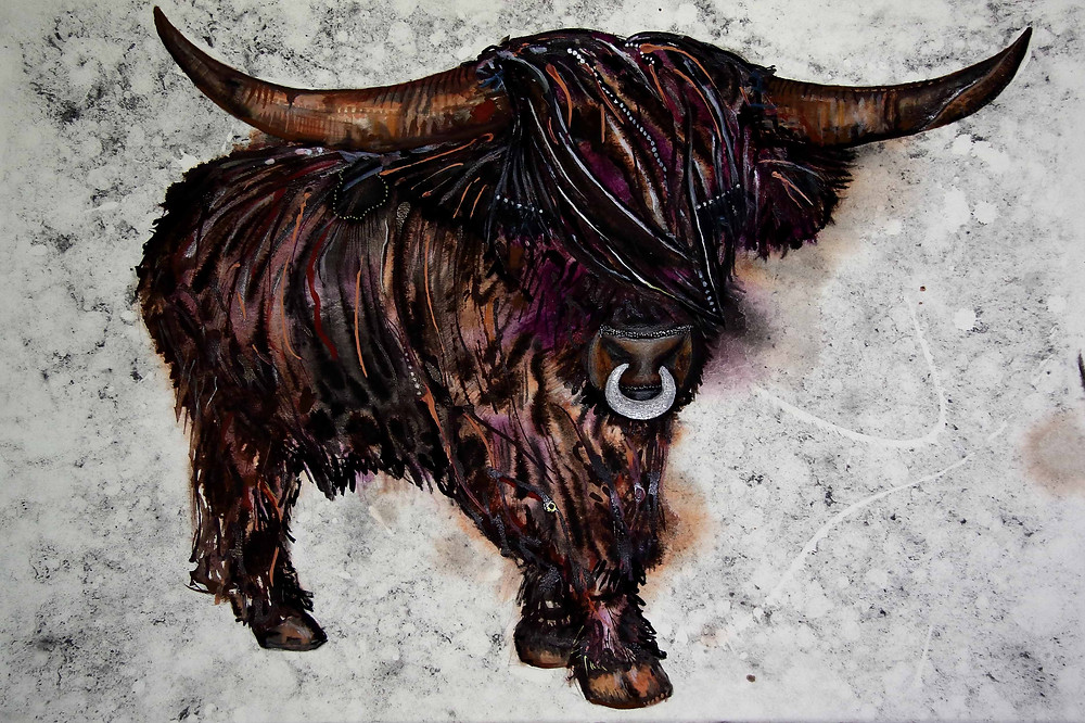 Purple Coo by Amy Hooton