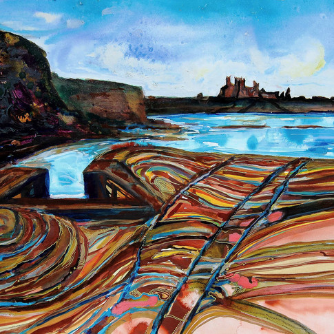 Tantallon Castle by Amy Hooton