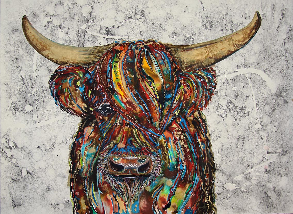 Coo2 painting by Amy Hooton