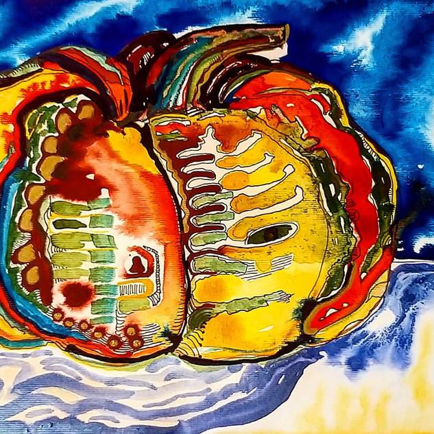 Yellow pumpkin by Amy Hooton.jpg