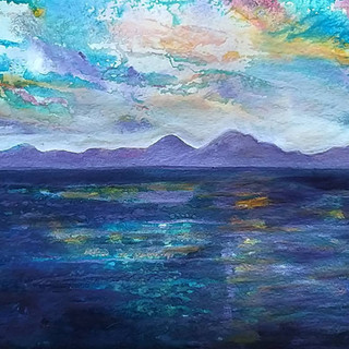 Jura seacape by Amy HAooton