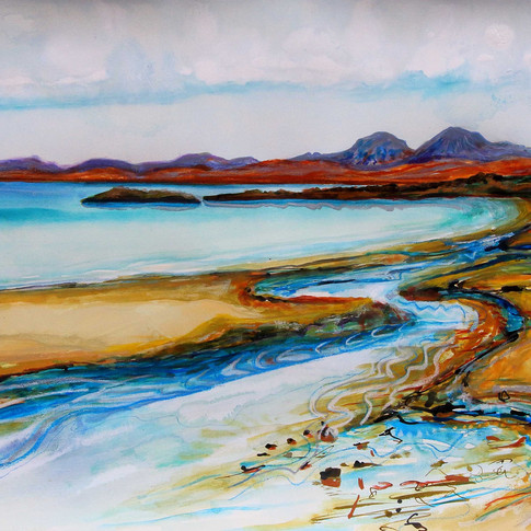 Kilmory Burn by Amy Hooton